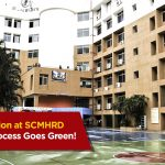 SCMHRD makes the admissions process paperless